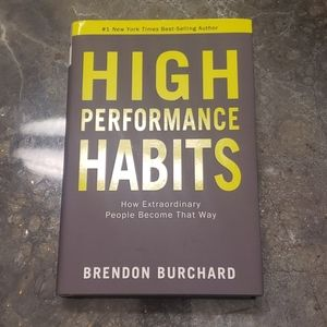 High Performance Habits Hardback Book